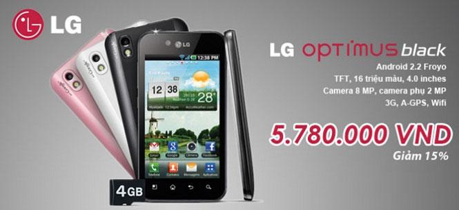 điện thoại LH Opitmus black