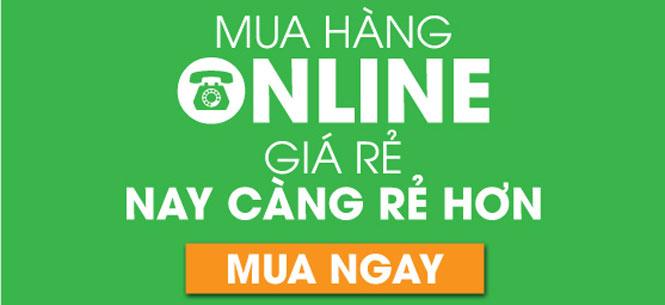 mua hàng online, trự tuyến giá ưu đãi