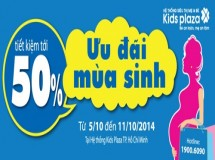 Kids Plaza giảm giá 50%