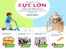 Shop Trẻ Thơ giảm giá 50% trong tháng 9