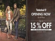 Thời trang Timberland giảm giá 15%