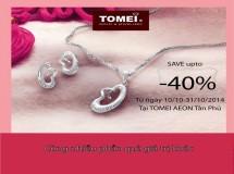 Tomei giảm giá hấp dẫn trong tháng 10
