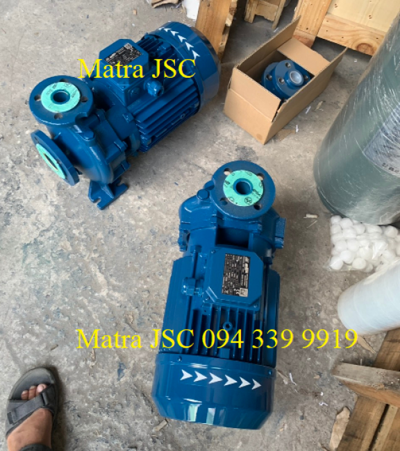 094 339 9919, Máy bơm cấp nước Matra CM40-160A công suất 4kW