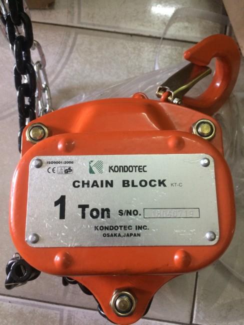 0941889251 - Pa lăng xích kéo tay 1 tấn Kndotec Nhật Bản giá siêu rẻ