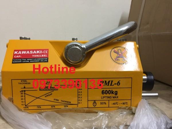 0973390135- Nam châm cẩu hàng 600kg, nam châm từ Kawasaki giá rẻ nhất
