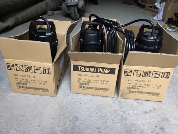 0983.480.896. Công ty bán máy bơm đặt chìm Tsurumi 80U21.5 công suất 1,5kw họng xả 80