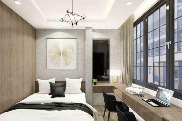 3 điều cần biết khi thiết kế nội thất phòng ngủ hẹp