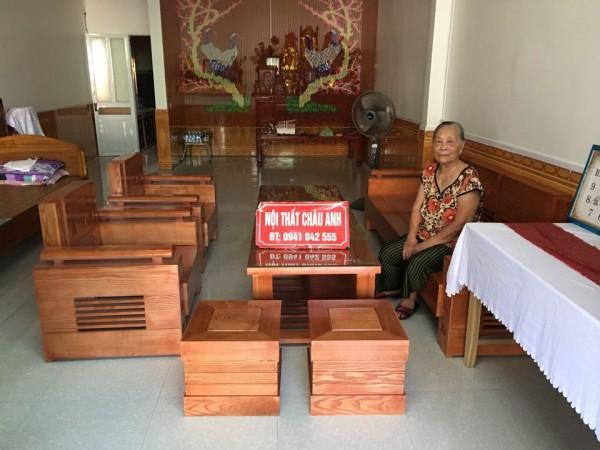 3 mẫu sofa gỗ đối phòng khách sang chảnh