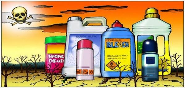 4 loại hóa chất nguy hiểm có trong danh sách sản phẩm gia đình