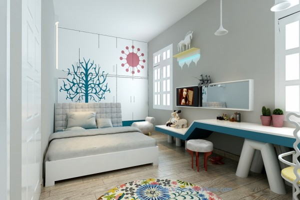 5 cách đơn giản giúp nới rộng không gian căn phòng