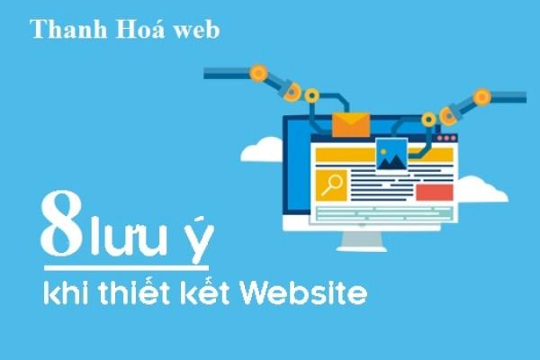 8 lưu ý để có thiết kế web bạn cần nắm bắt