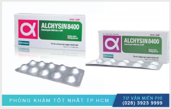 Alchysin 8400 là thuốc gì? Giá bao nhiêu?
