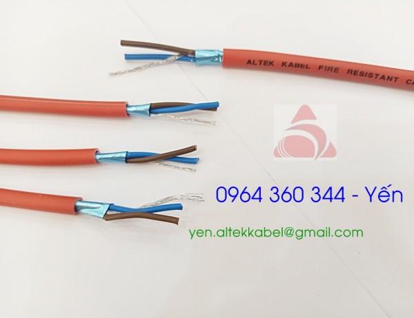 Altek Kabel Fire Resistant Cable 2x1.0mm/2x1.5mm/2x2.5mm + E chính hãng