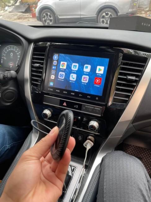 Android box cho ô tô có gắn sim 4g giải trí trên màn hình zin theo xe