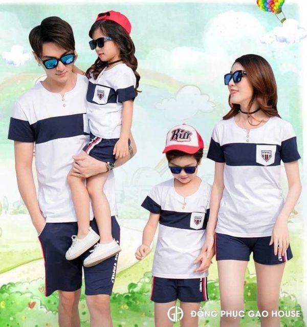 Áo đồng phục gia đình giá rẻ