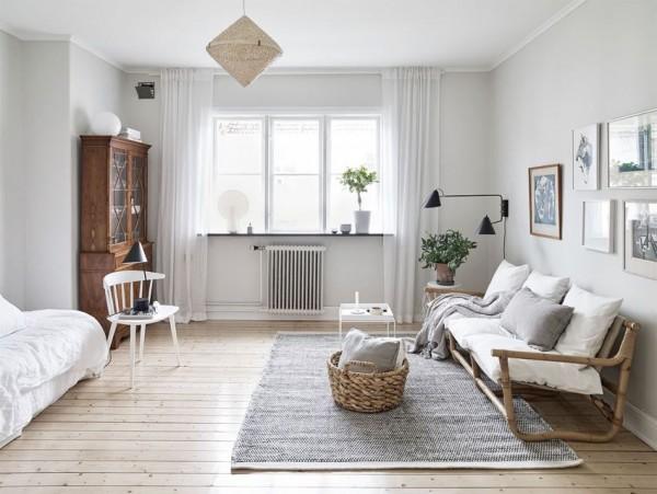 Áp dụng phong cách tối giản dành cho căn hộ nhỏ