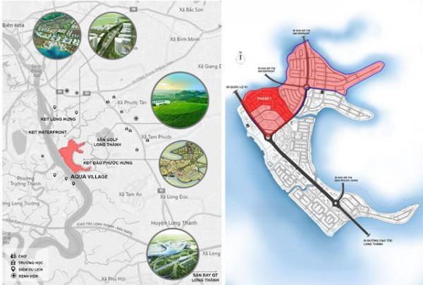 Aqua City Novaland Biên Hòa - vị trí đắc địa nâng giá trị dự án