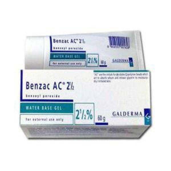 Bán buôn Benzac AC 2,5% Gel xuất khẩu, nhà cung cấp và phân phối - Oddway International