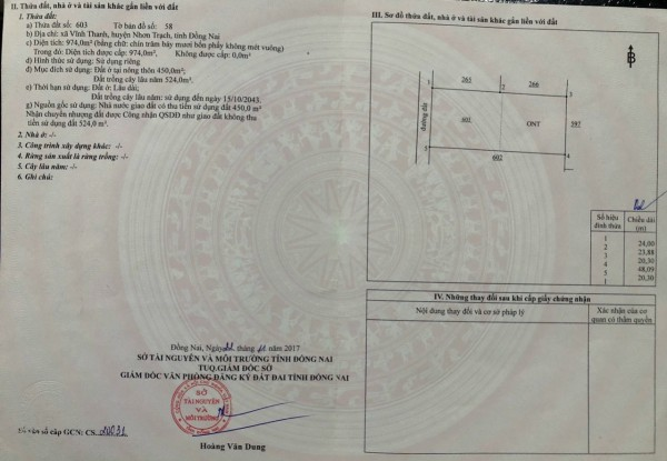 Bán gấp 2 thửa đất một xẹc Hùng Vương Nhơn Trạch - Thuận Lộc