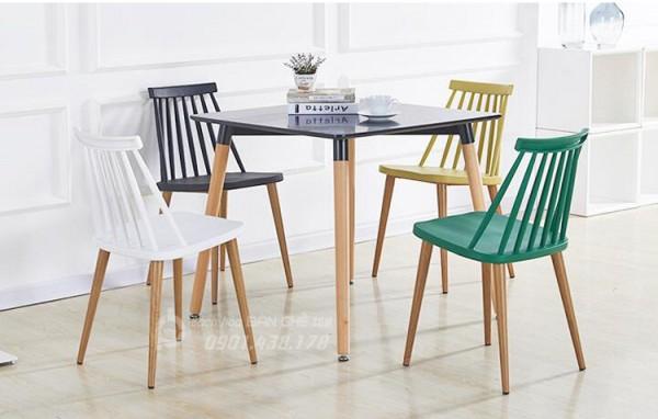 Bàn ghế cafe, bàn ghế trà sữa, bàn ghế quán trà chanh hot trend