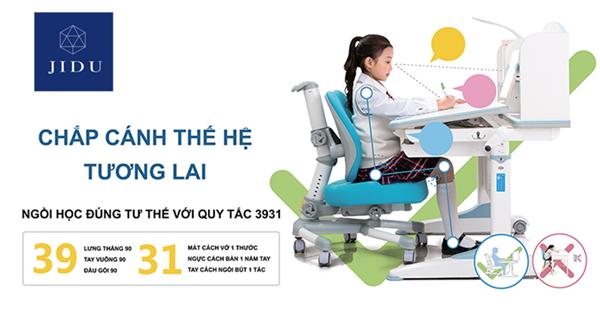 Bàn học chống gù chất lượng nhất tại Hà Nội | Jidu