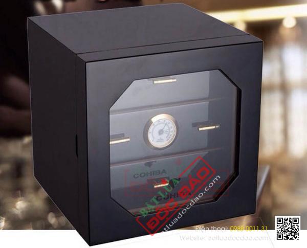 Bán hộp bảo quản xì gà Cohiba 50 điếu H711, free ship