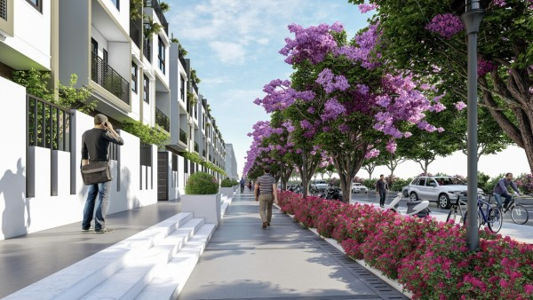 Bán nhà phố Midori Haruka - khu căn hộ biệt lập đẳng cấp nhất Bình Dương
