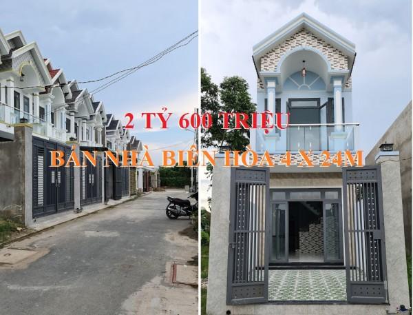 Bán nhà phường An Hòa, thành phố Biên Hòa sổ hồng riêng