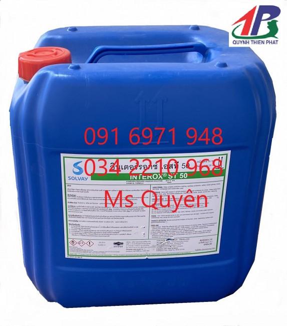 Bán oxy già 50%, H2O2 đậm đặc của Thái Lan giá sỉ