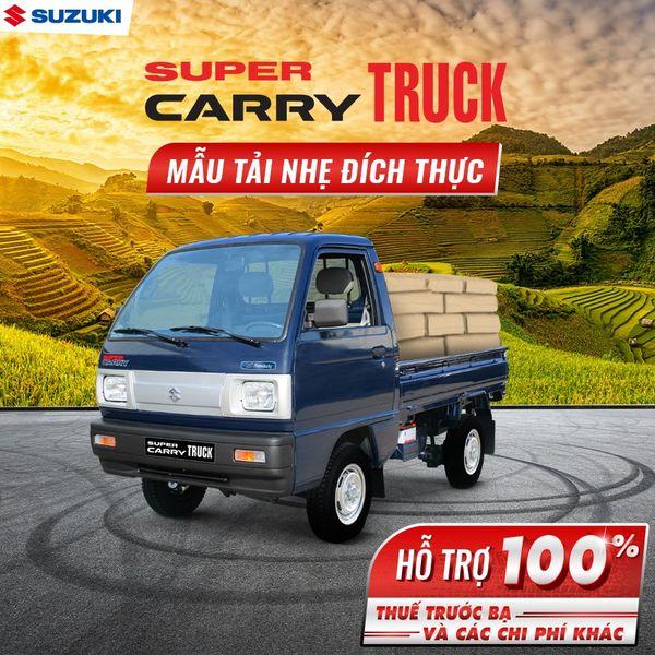 Bán Suzuki Truck 645Kg Tặng 100% thuế trước bạ và các chi phí khác