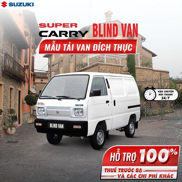 Bán Suzuki Van 580kg chạy giờ cấm HCM, KM Thuế trước bạ và các chi phí khác