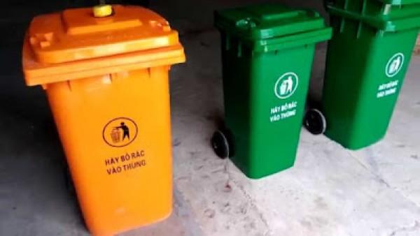 Bán thùng rác 60 lít có kích thước 47x42x65cm - 0973212939