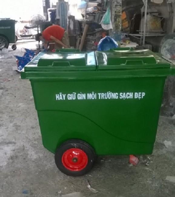 Bán thùng rác nhựa 4 bánh, thùng rác tại công viên, thùng rác có bánh xe, thùng rác nhựa nhập khẩu