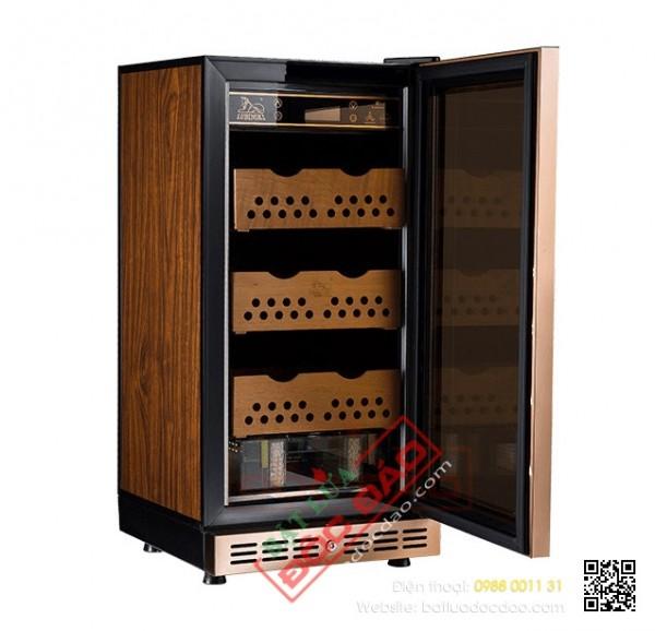 Bán tủ đựng xì gà 150 đến 200 điếu Lubinski loại cắm điện