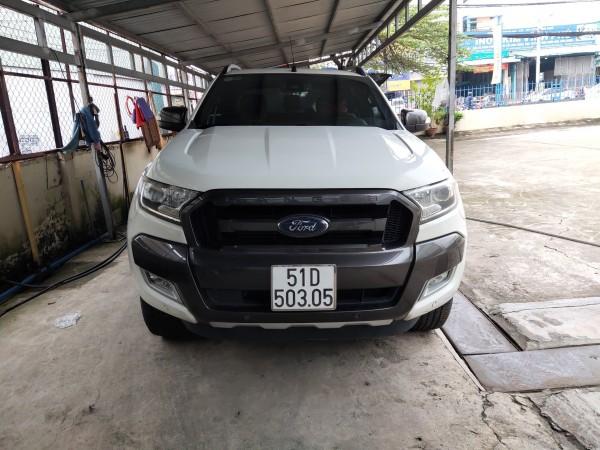 Bán xe Ford Ranger Wildtrak 3.2L 4x4 AT, đời 2016, đăng kí 2017, nhập khẩu Thái