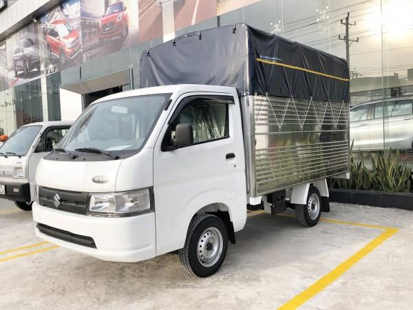 Bán xe Suzuki Carry Pro Thùng Mui Bạt Đời 2021 Nhập khẩu