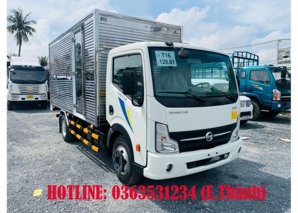 Bán xe tải 3t5 thùng kín 4m3, Động cơ nissan Nhật Bản mạnh mẽ