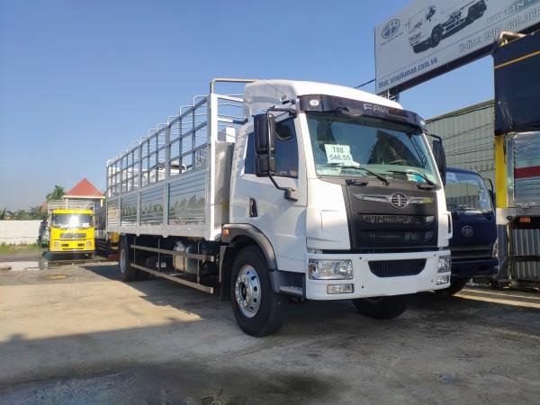 Bán xe tải 8 tấn thùng dài 8m| faw 8 tấn thùng dài