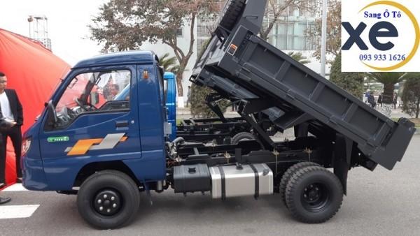 Bán xe tải ben 990kg, xe ben zb5010d, xe ben tmt zb5010 chỉ 295 triệu