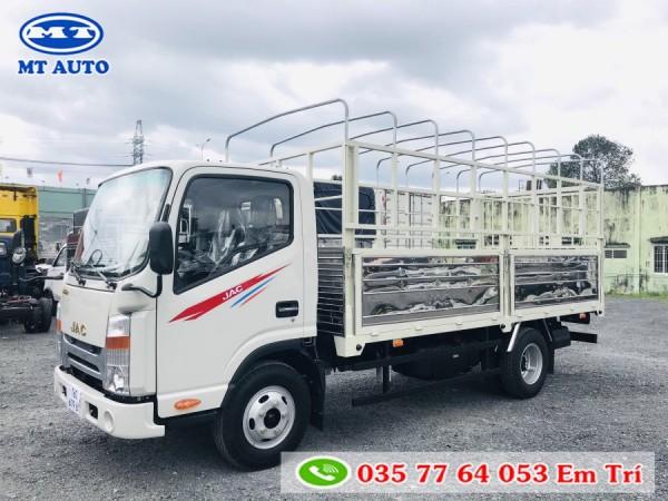bán xe tải Jac N200 1 tấn 9 thùng 4m3  máy isuzu 2.771cm3   hỗ trợ mua trả góp lãi suất thấp