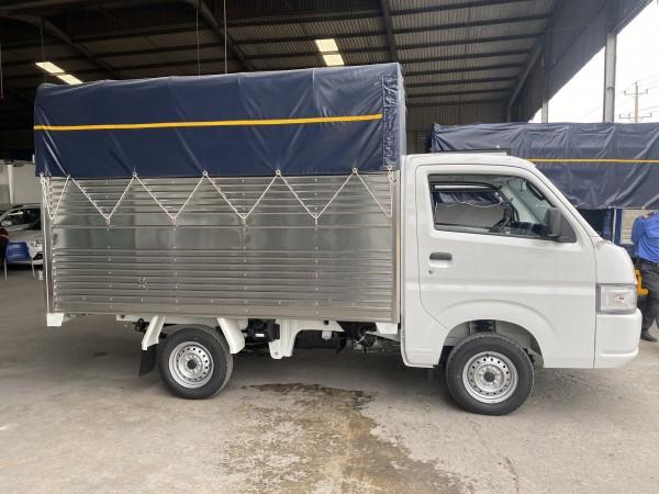 Bán xe tải Suzuki Carry Pro Đời 2021 Thùng Mui Bạt Tải trọng 750kg Giá ưu đãi tháng 8