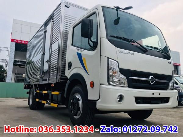 Bán xe tải Vinamotor cabstar 1,9T thùng kín dài 4m3, giá rẻ nhất thị trường
