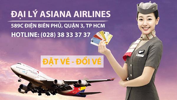 Bảng giá vé máy bay đi Hàn Quốc tháng 8 và tháng 9 hãng Asiana Airlines