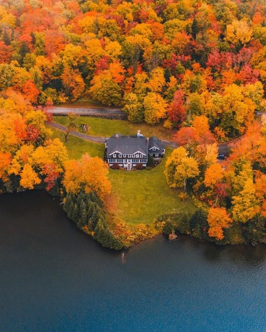 Bang Vermont- vùng đất thơ mộng nhất nước Mỹ
