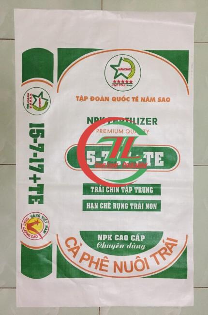 Bao bì đựng phân bón 20kg, 25kg, 50kg - Tuấn Long