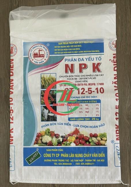 Bao đựng phân bón chất liệu pp dệt - Tuấn Long
