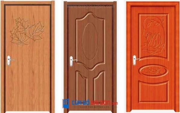 Báo giá cửa gỗ công nghiệp
