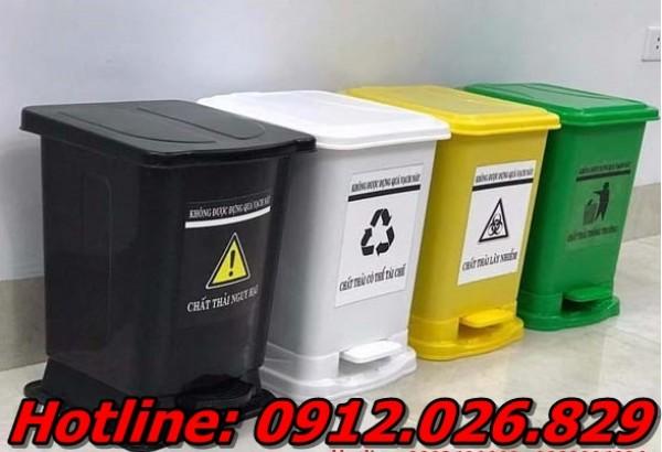 Báo giá thùng rác y tế