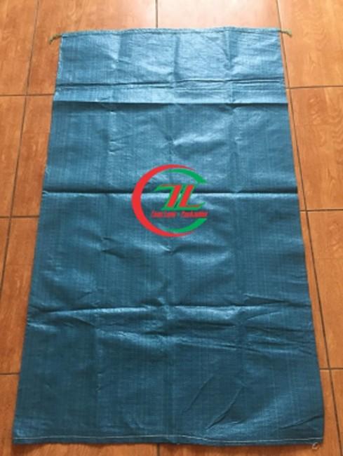 Bao pp dệt màu xanh, xưởng sản xuất bao pp dệt - 0908.858.386