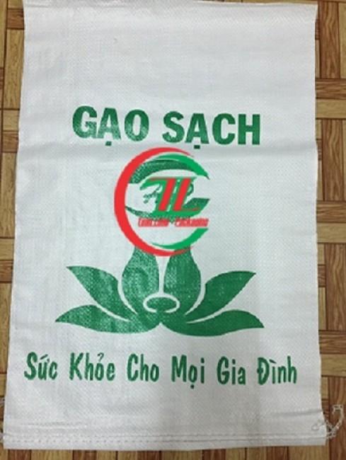 Bao tải dứa đựng gạo, sản xuất và thiết kế bao tải đựng gạo, giá bán bao tải đựng gạo, 0908 858 386